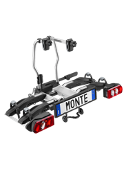 מנשא לוו גרירה MONTE RAMP 2B TOWBAR MOUNTED BIKE CARRIRE