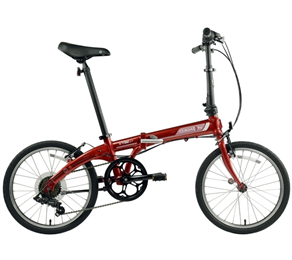 DAHON VYBE D7 RED 3