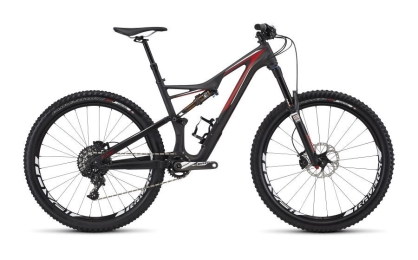 SJ FSR EXPERT CARBON 650B CARB/RED/WHT  L